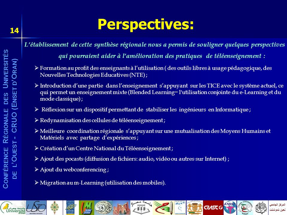 Perspectives: 14.