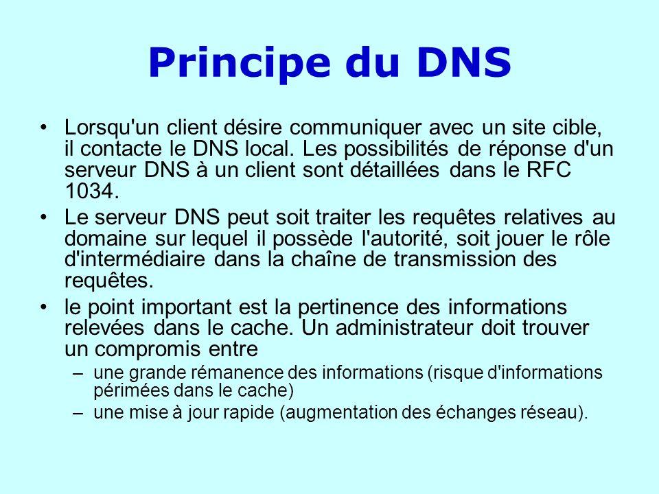 Principe du DNS