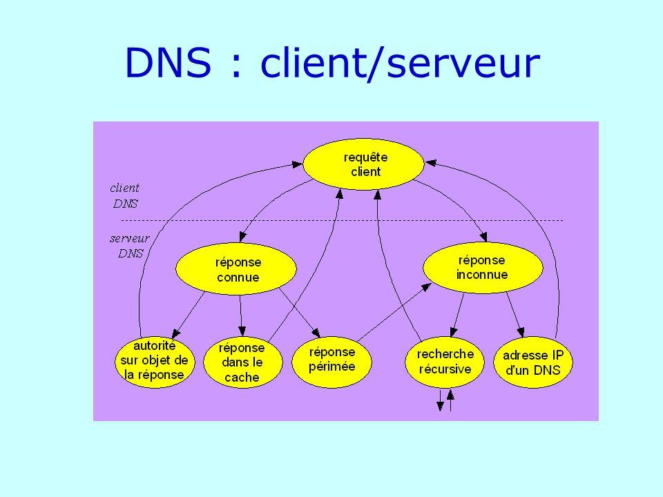 DNS : client/serveur