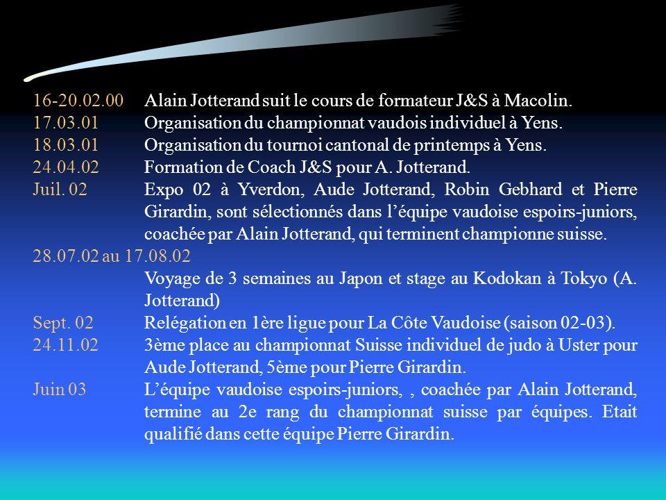 16-20.02.00 Alain Jotterand suit le cours de formateur J&S à Macolin.