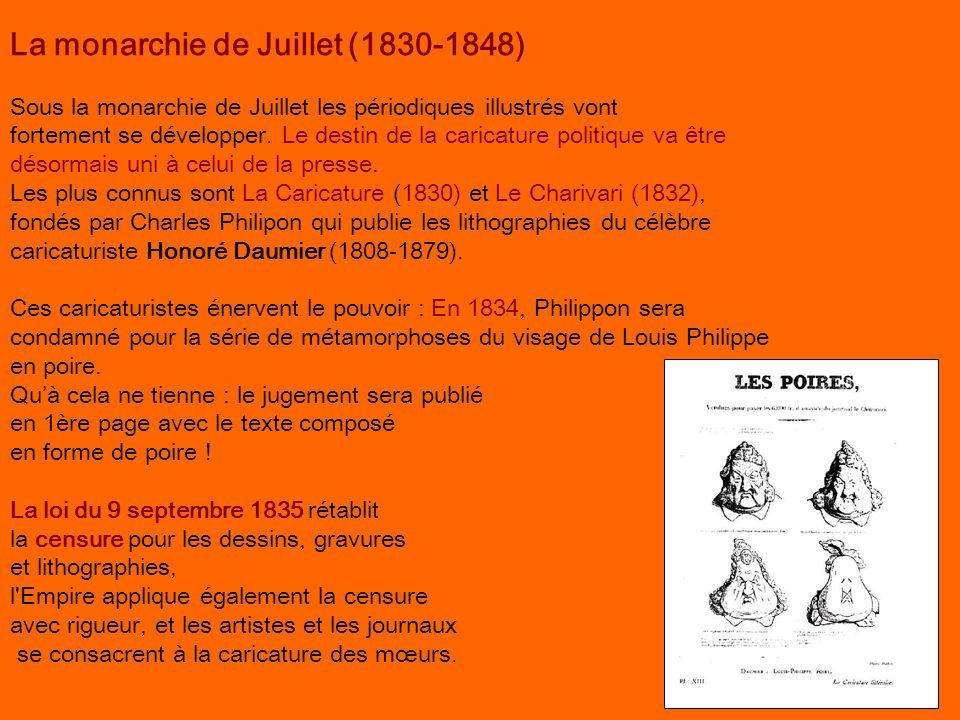 La monarchie de Juillet (1830-1848)