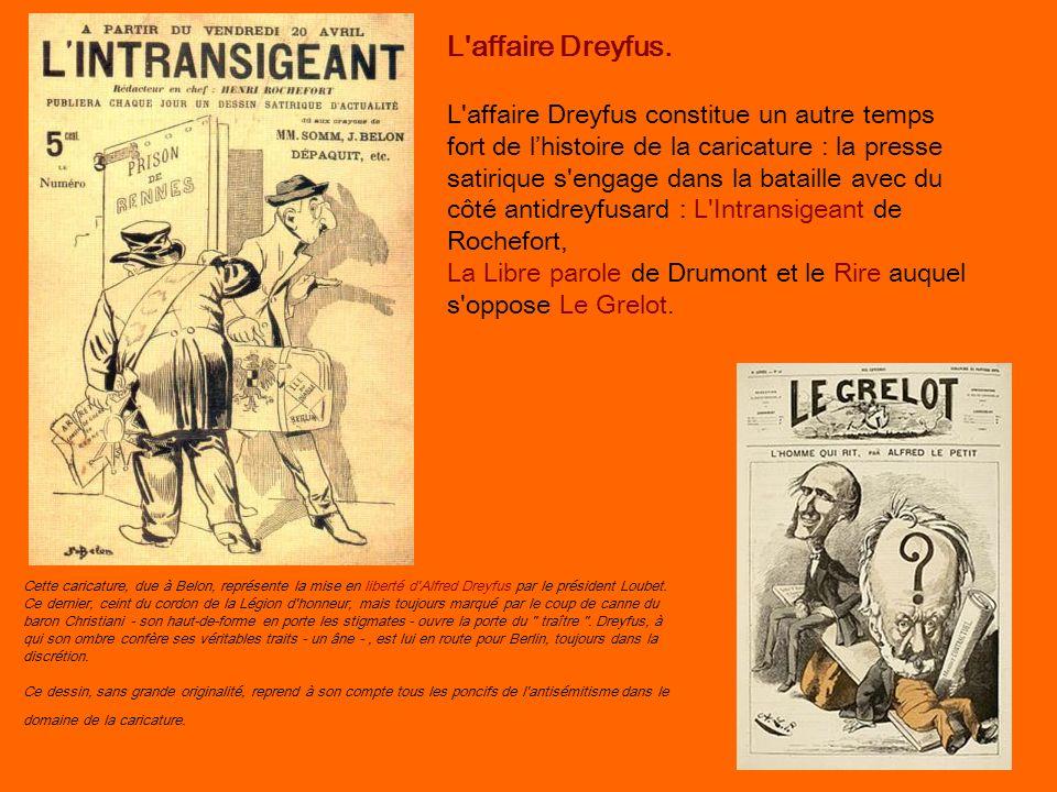 L affaire Dreyfus.