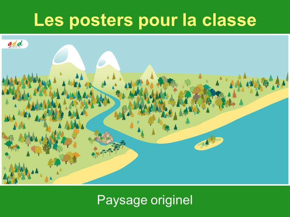 Les posters pour la classe