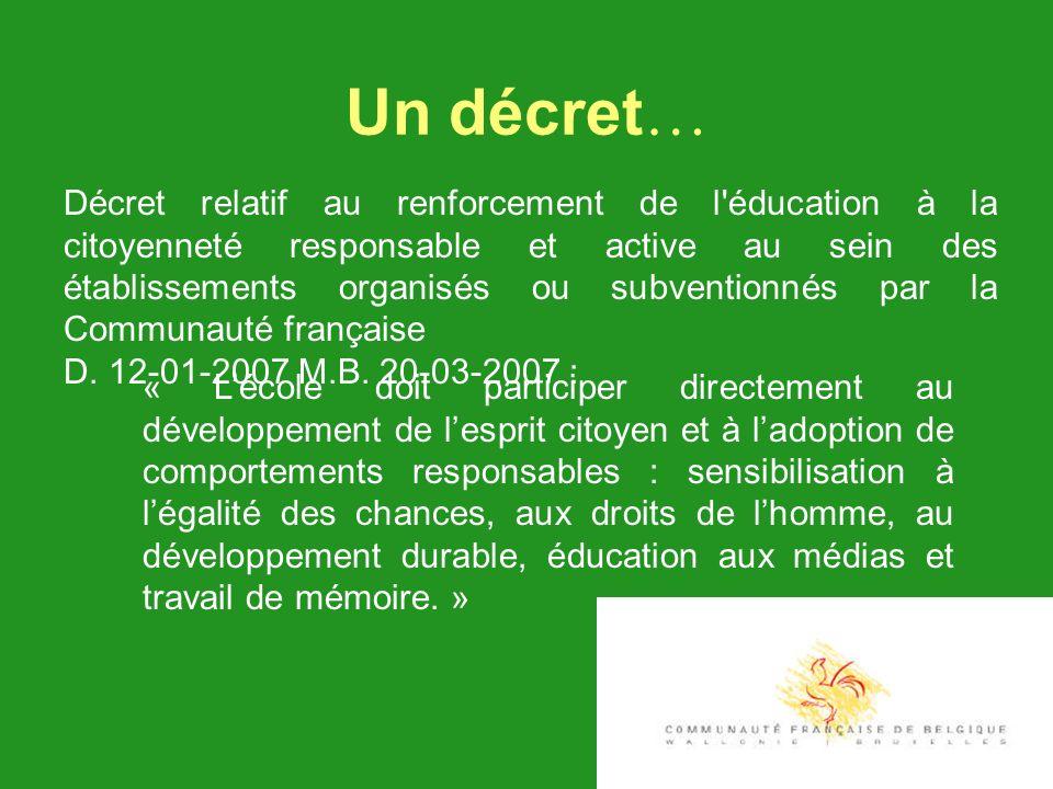 Un décret…