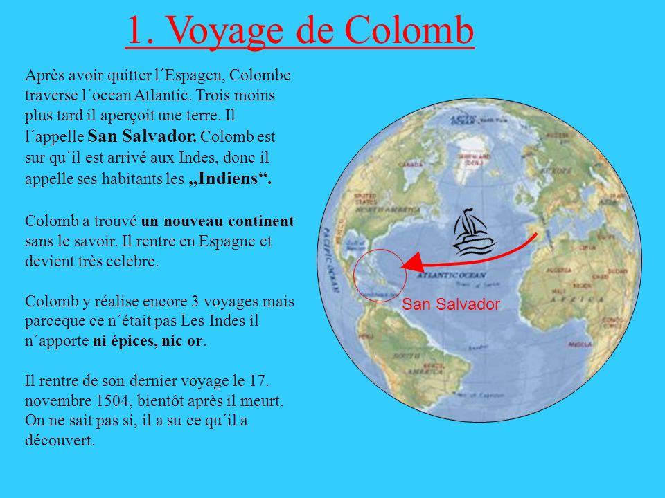 1. Voyage de Colomb