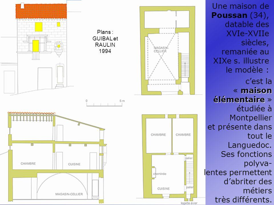 Une maison de Poussan (34), datable des