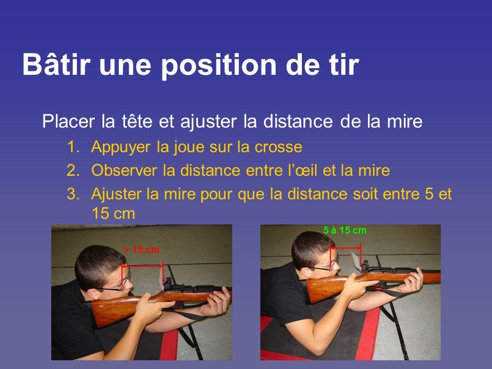Bâtir une position de tir