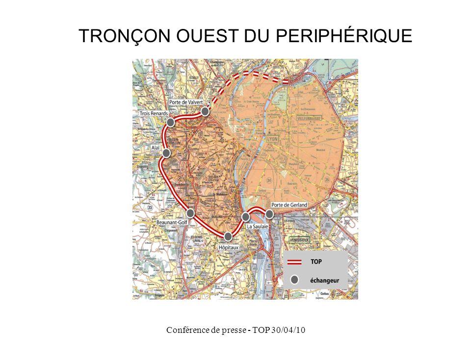Conférence de presse - TOP 30/04/10