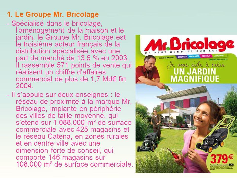 1. Le Groupe Mr. Bricolage