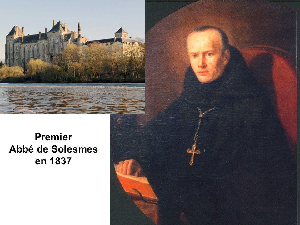 Premier Abbé de Solesmes en 1837