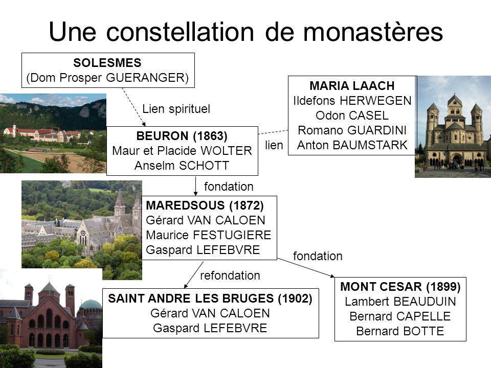 Une constellation de monastères