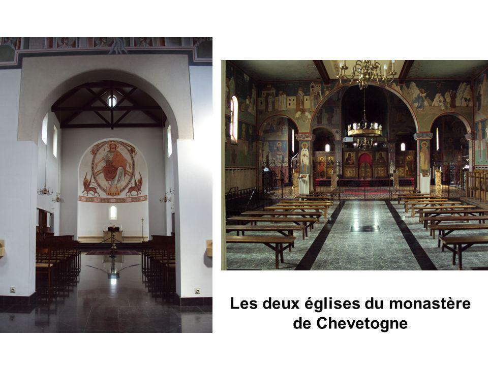 Les deux églises du monastère