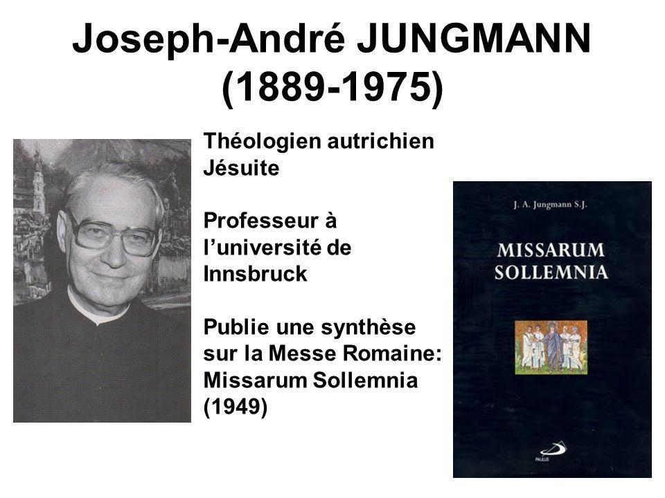 Joseph-André JUNGMANN (1889-1975)