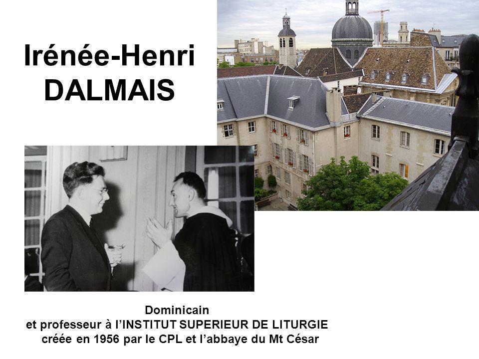 Irénée-Henri DALMAIS Dominicain