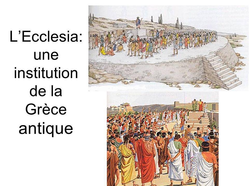 L'Ecclesia:une institution de la Grèce antique