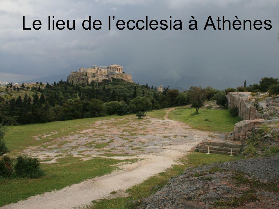 Le lieu de l'ecclesia à Athènes