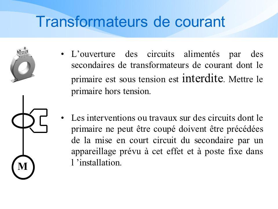 Transformateurs de courant