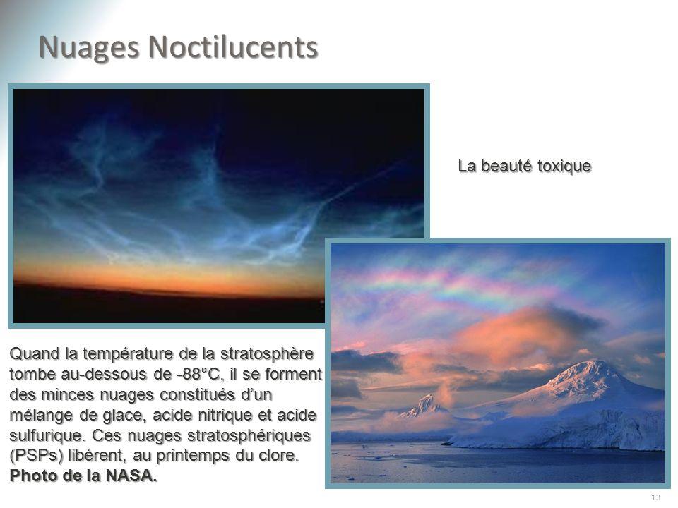 Nuages Noctilucents La beauté toxique