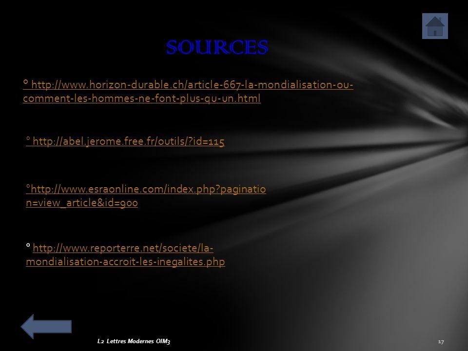 SOURCES ° http://www.horizon-durable.ch/article-667-la-mondialisation-ou- comment-les-hommes-ne-font-plus-qu-un.html.