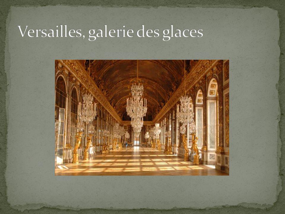 Versailles, galerie des glaces