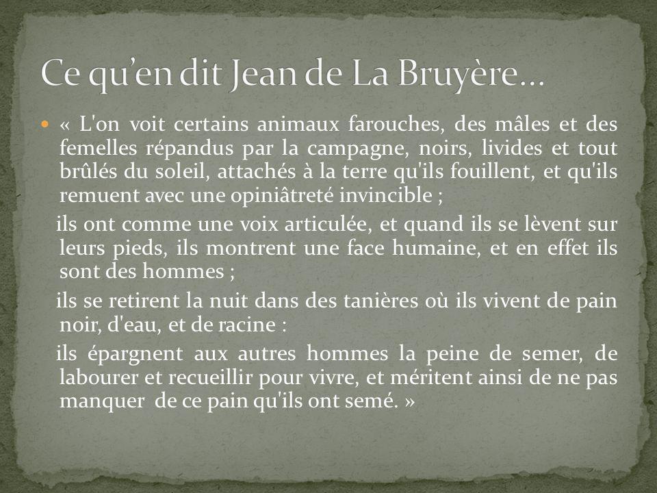 Ce qu'en dit Jean de La Bruyère…