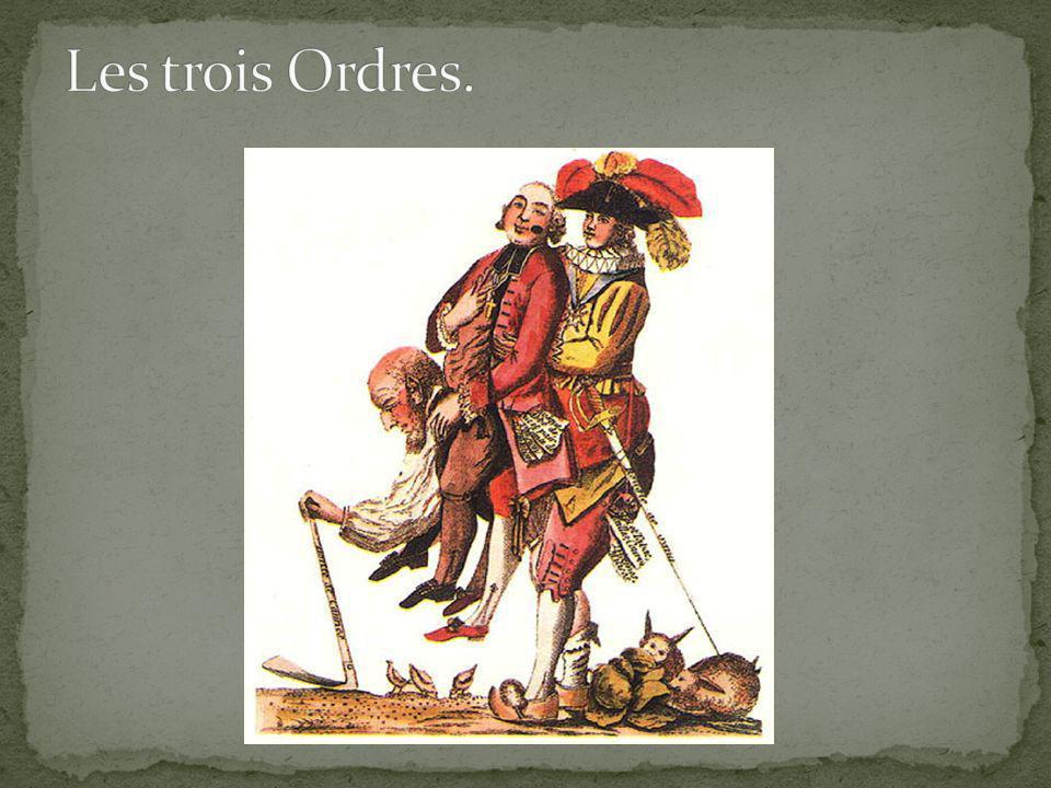 Les trois Ordres. Analysons cette caricature.