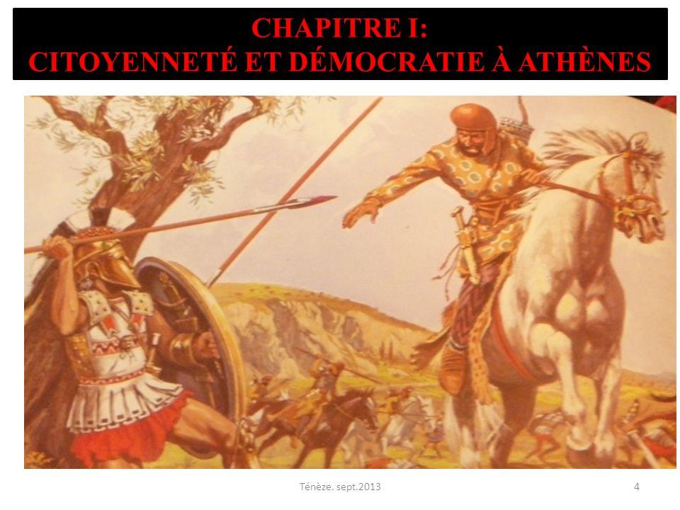 Chapitre I: Citoyenneté et démocratie à Athènes