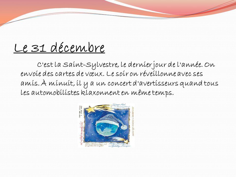 Le 31 décembre