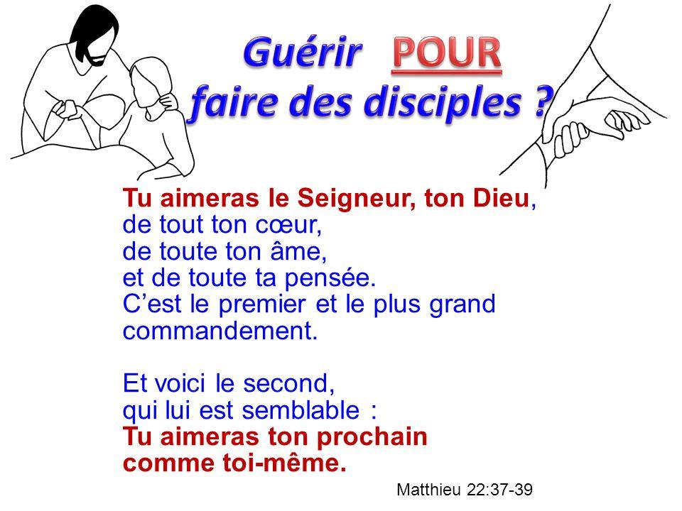 Guérir POUR faire des disciples