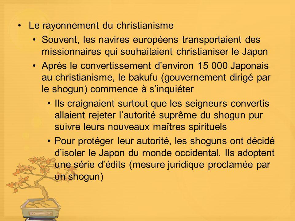 Le rayonnement du christianisme