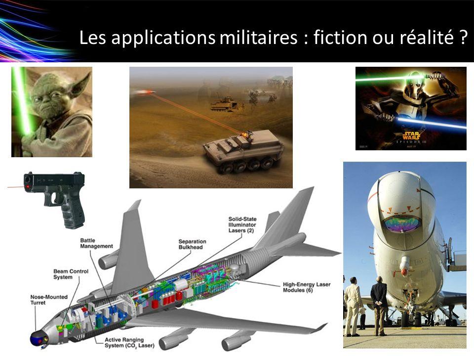 Les applications militaires : fiction ou réalité