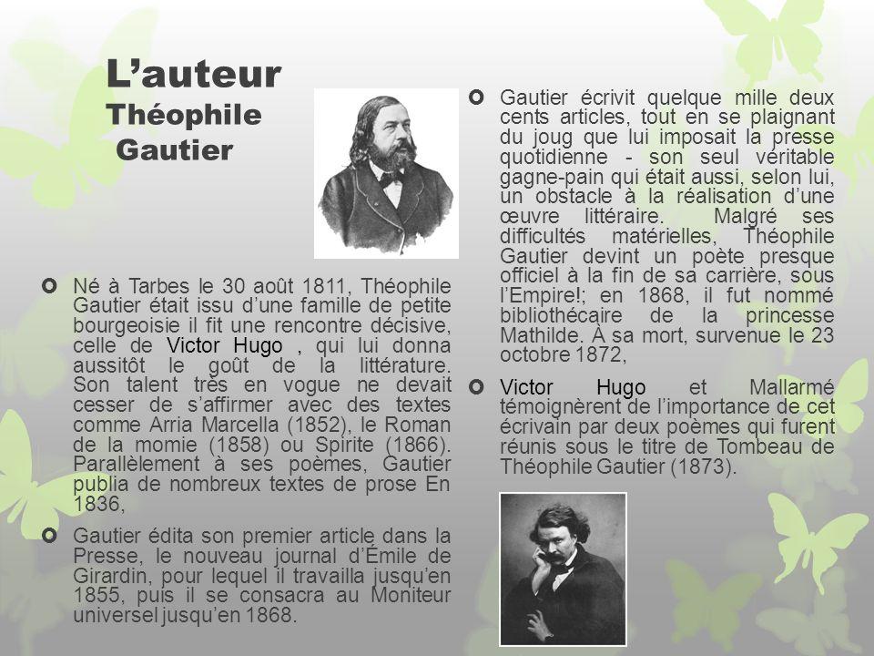 L'auteur Théophile Gautier