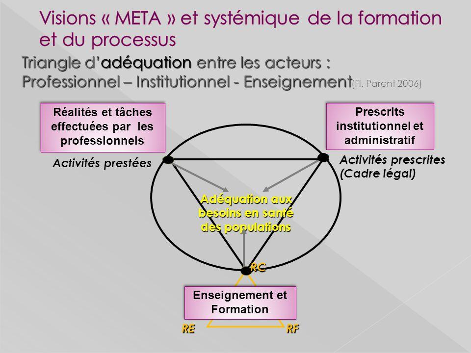 Visions « META » et systémique de la formation et du processus