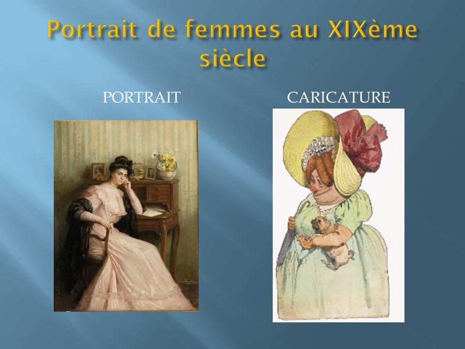 Portrait de femmes au XIXème siècle