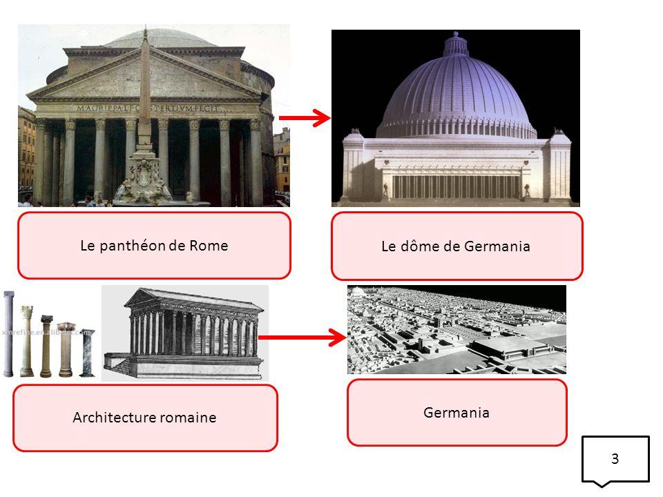 Le panthéon de Rome Le dôme de Germania Germania Architecture romaine 3