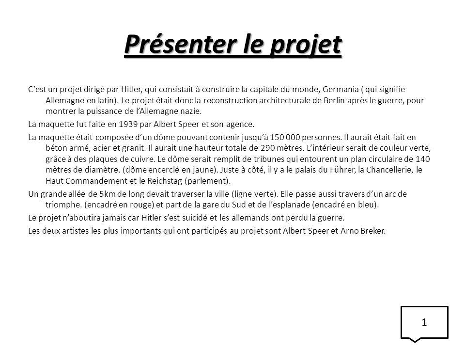 Présenter le projet