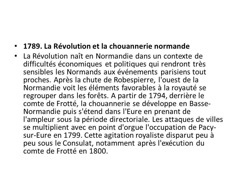 1789. La Révolution et la chouannerie normande
