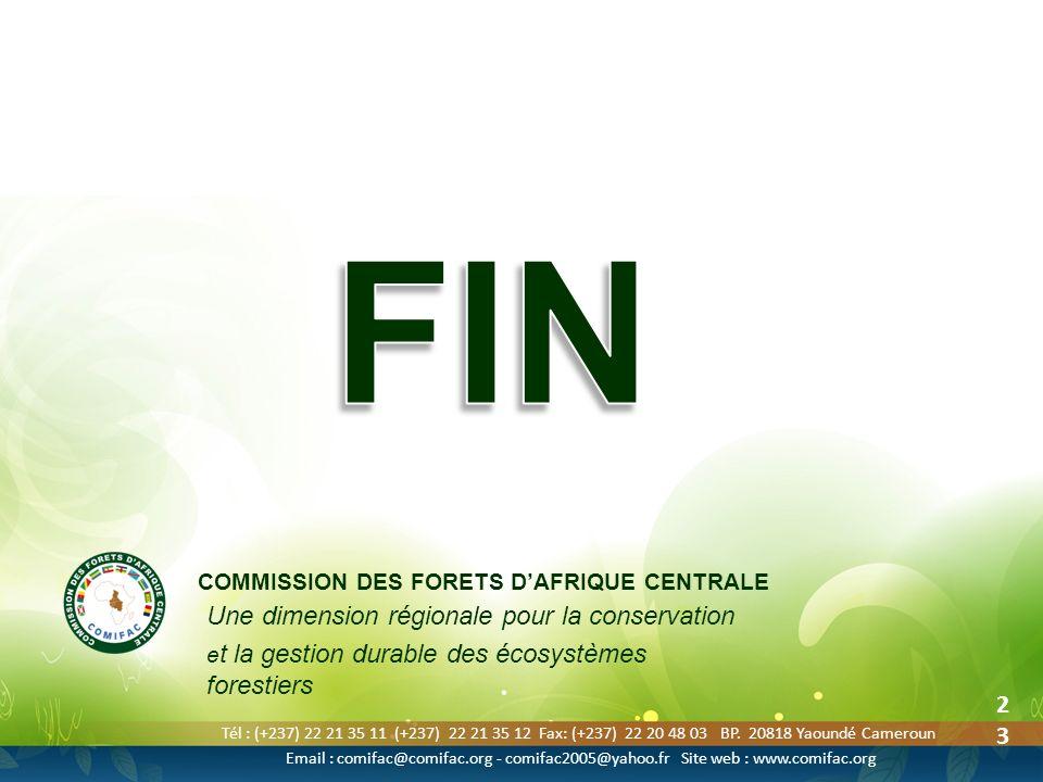 FIN Une dimension régionale pour la conservation 2323