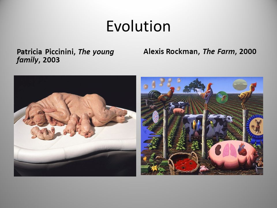 Evolution Alexis Rockman, The Farm, 2000