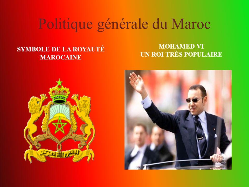 Politique générale du Maroc