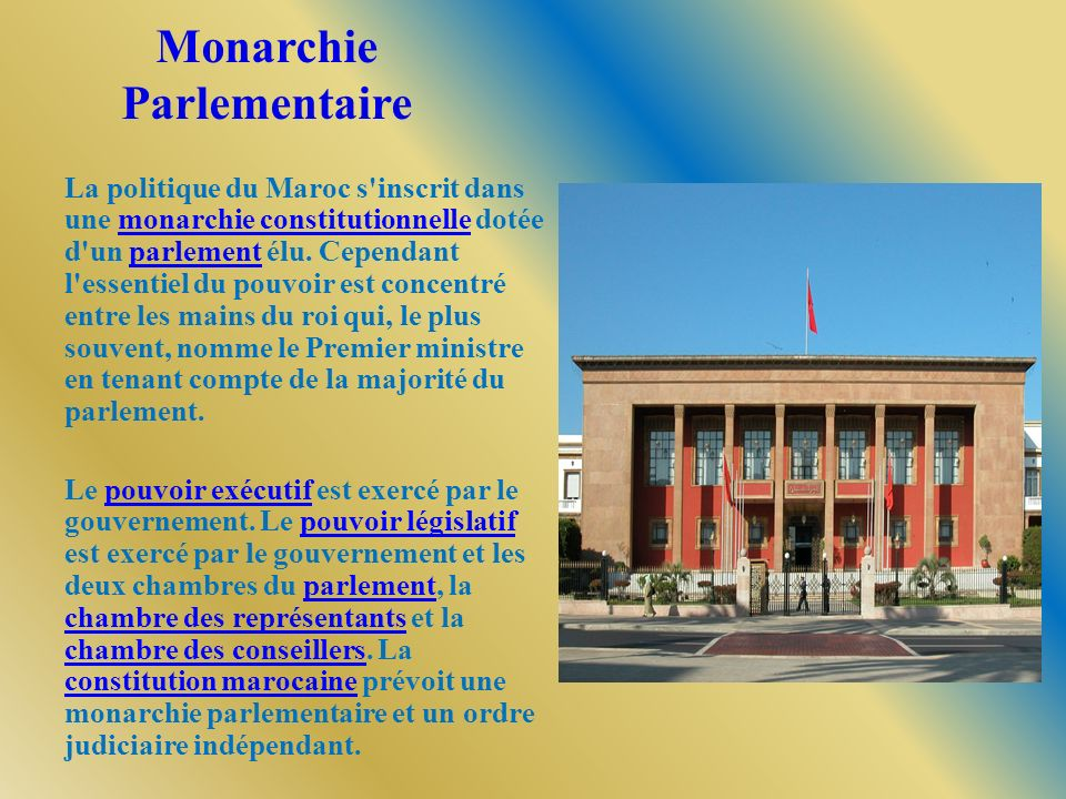 Monarchie Parlementaire