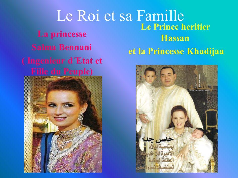Le Roi et sa Famille Le Prince heritier Hassan