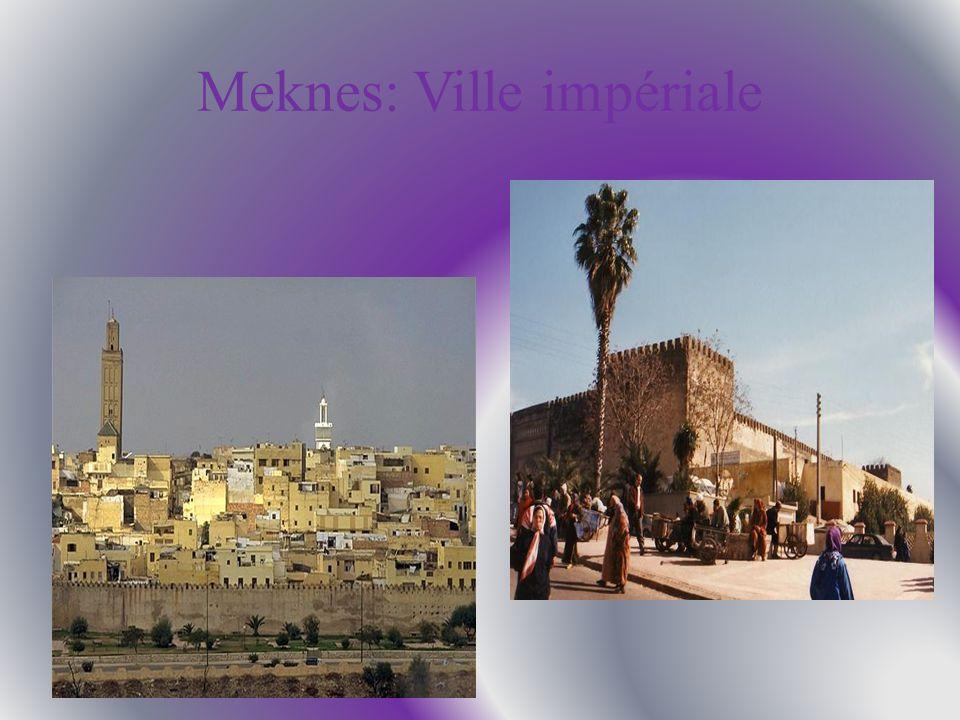 Meknes: Ville impériale