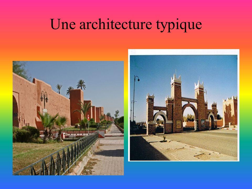 Une architecture typique
