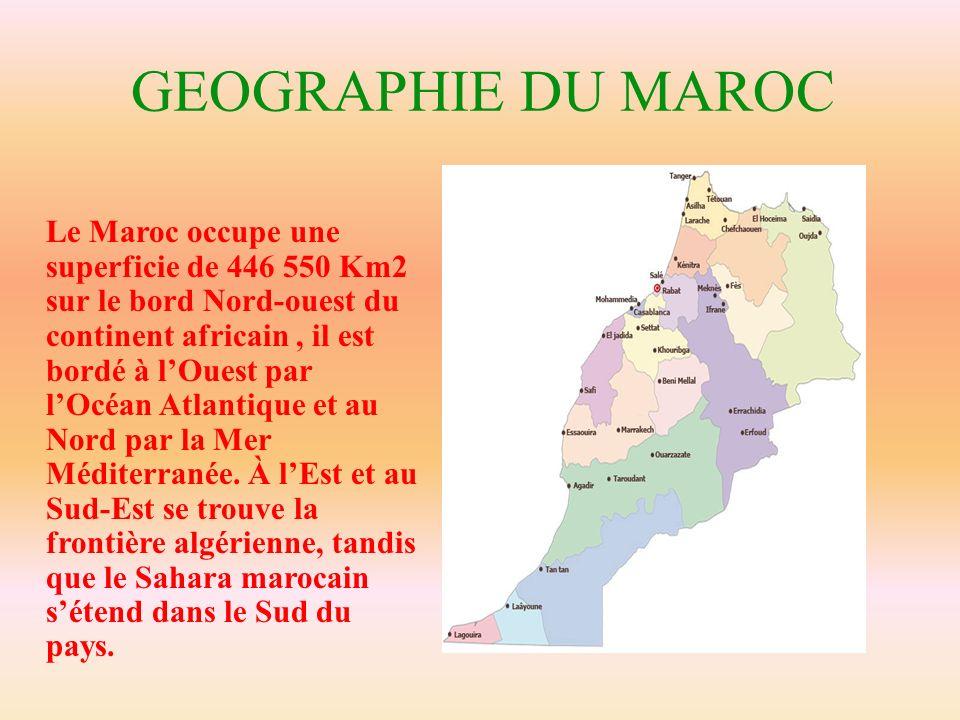 GEOGRAPHIE DU MAROC