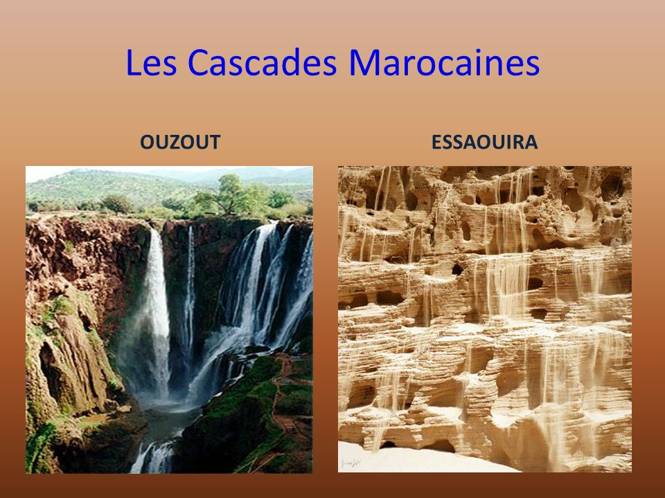 Les Cascades Marocaines