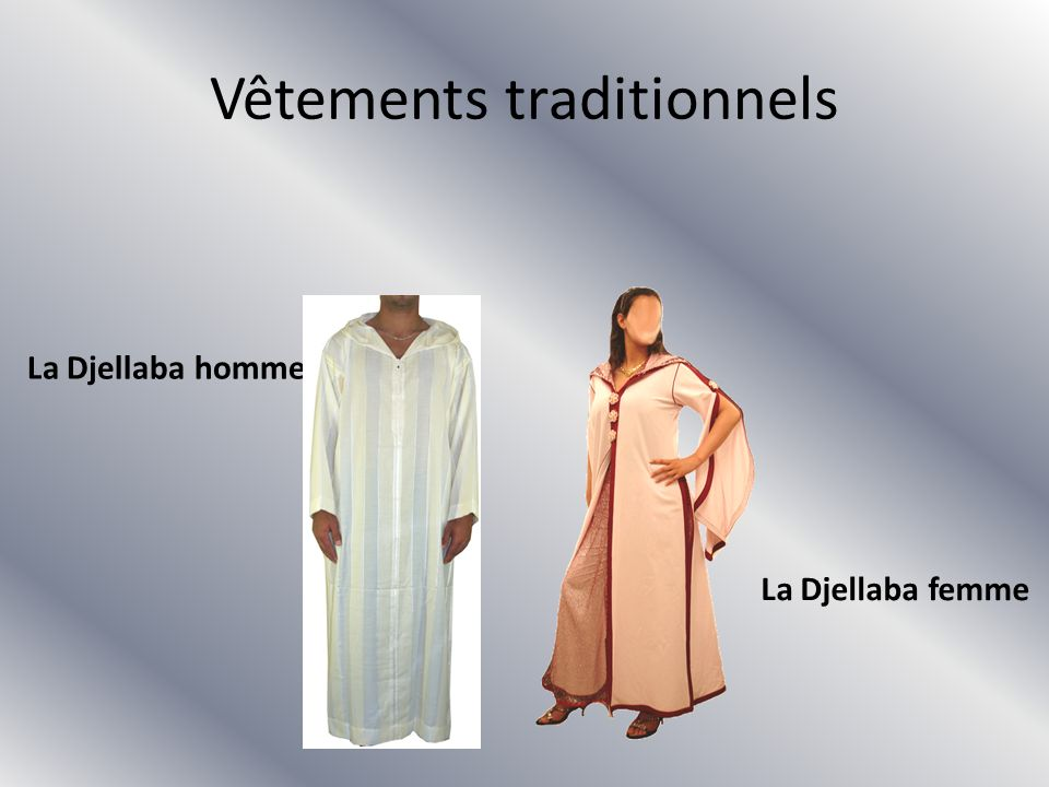 Vêtements traditionnels