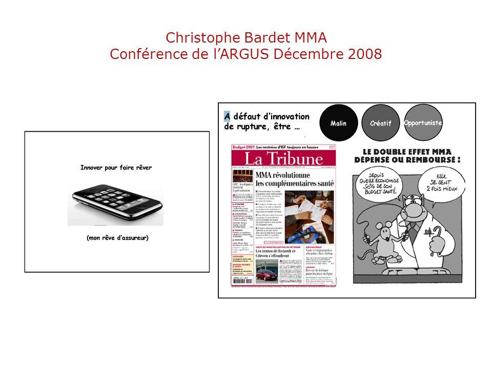 Christophe Bardet MMA Conférence de l'ARGUS Décembre 2008