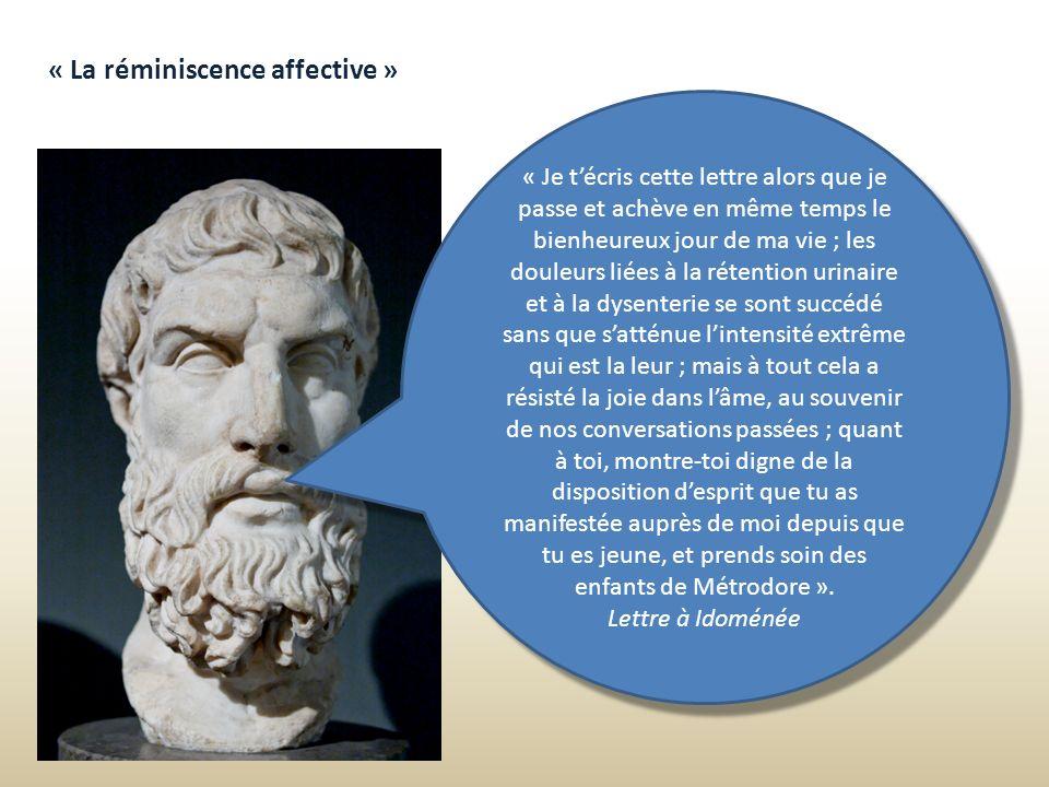 « La réminiscence affective »
