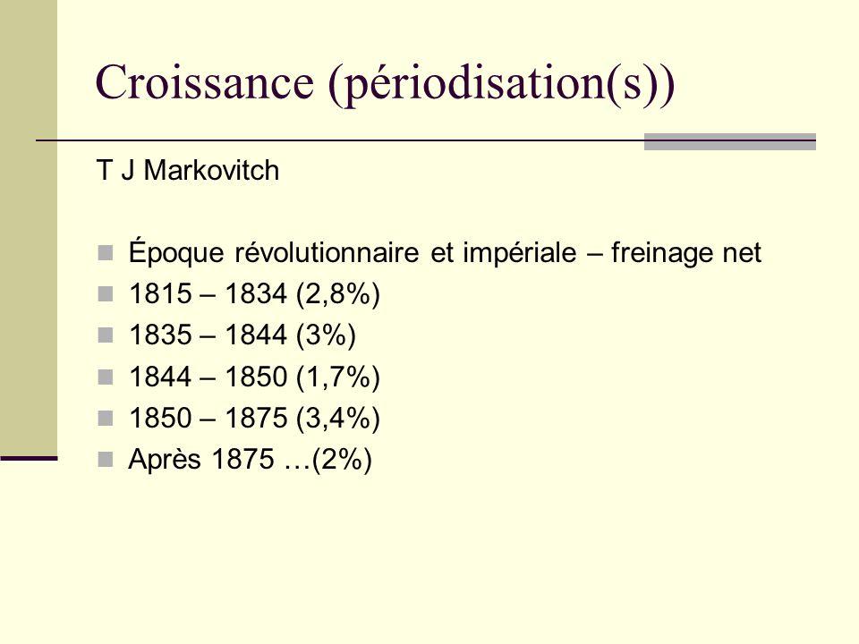 Croissance (périodisation(s))